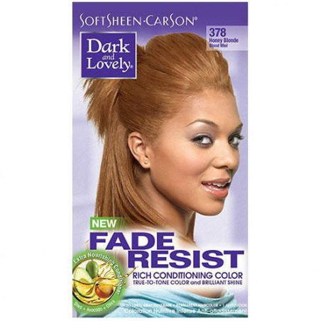 Dark And Lovely - Coloration Rich Conditioning FADE RESIST - 378 Blond Miel