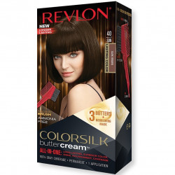 REVLON - Coloration Permanente Butter Cream COLORSILK - 40 Marron Foncé