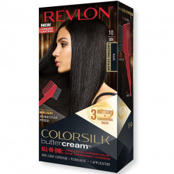 REVLON - Coloration Permanente Butter Cream COLORSILK - 10 Noir