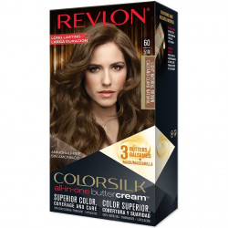 REVLON - Coloration Permanente Butter Cream COLORSILK - 60 Brun Naturel Clair