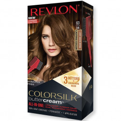 REVLON - Coloration Permanente Butter Cream COLORSILK - 63 Brun Doré Clair