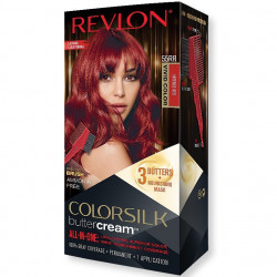 REVLON - Coloration Permanente Butter Cream COLORSILK - 55RR Rouge Intense