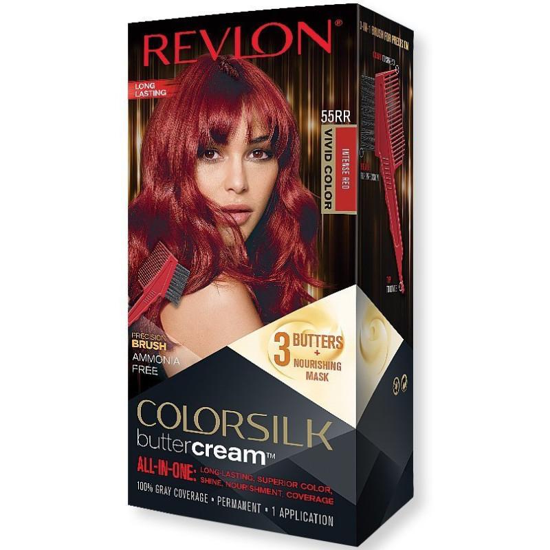 REVLON - Coloration Permanente Butter Cream COLORSILK - 55RR Rouge Intense