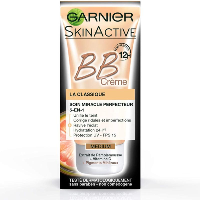 Garnier - BB Crème Classique Soin Perfecteur Tout En 1 - Médium 50Ml