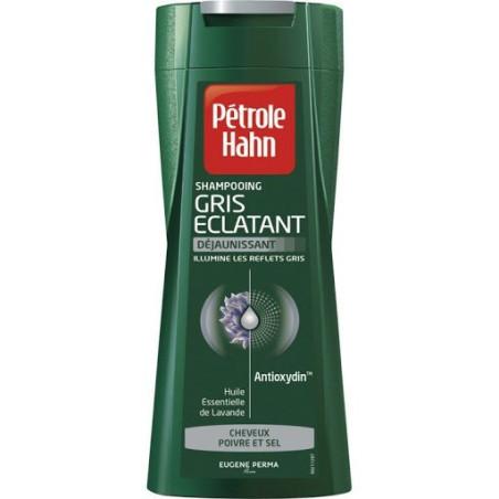 Pétrole Hahn - Shampoing GRIS ÉCLATANT DÉJAUNISSANT 250 ml - Cheveux Blancs Ou Gris