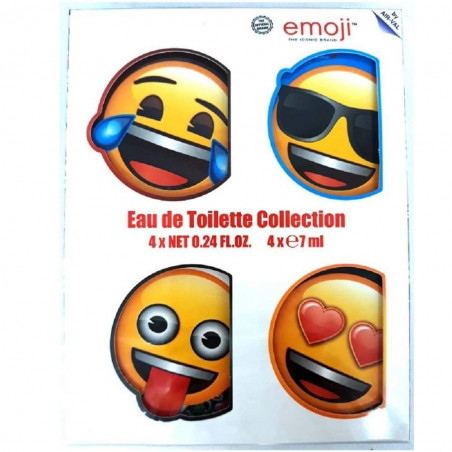 Emoji - Coffret Eau de Toilette Miniatures COLLECTION - 4x7ml