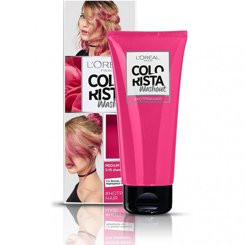 L'Oréal Paris - Coloration COLORISTA WASHOUT - HotPink Hair