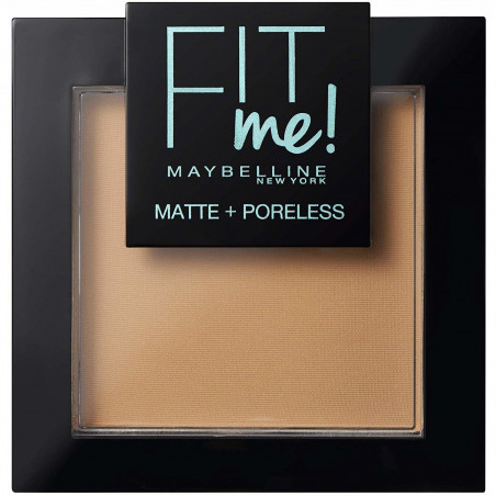 Maybelline New York - Poudre ton sur ton matifiante FIT ME MATTE & PORELESS - 332 Golden Caramel
