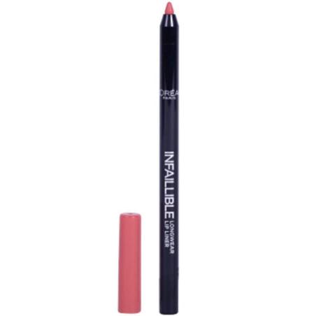 L'Oréal Paris - Crayon à lèvres INFAILLIBLE LIP LINER - 201 Hollywood Beige