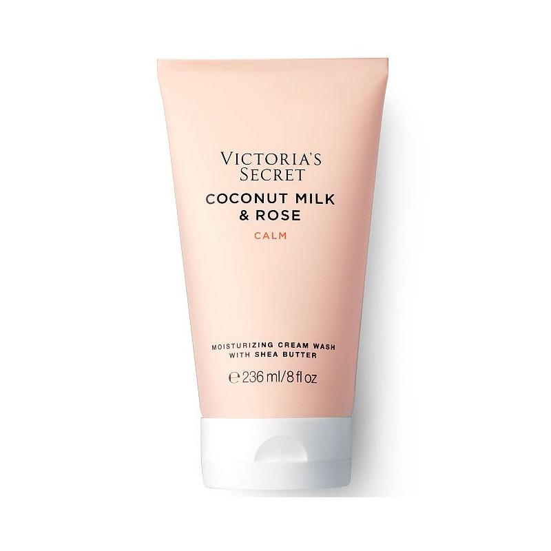 Victoria's Secret - Gel Douche Crème Hydratant - Lait De Coco Et Rose