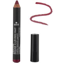 Avril - Crayon Rouge à Lèvres Mat Certifié Bio - Fraise des Bois N° 789