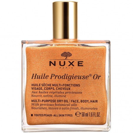 Nuxe - Huile Prodigieuse Or 50 ml - Visage Corps Cheveux