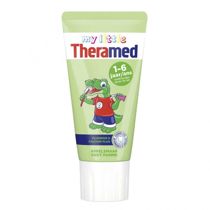 My little Theramed - Dentifrice Junior/Enfant - Goût Pomme 1-6 Ans