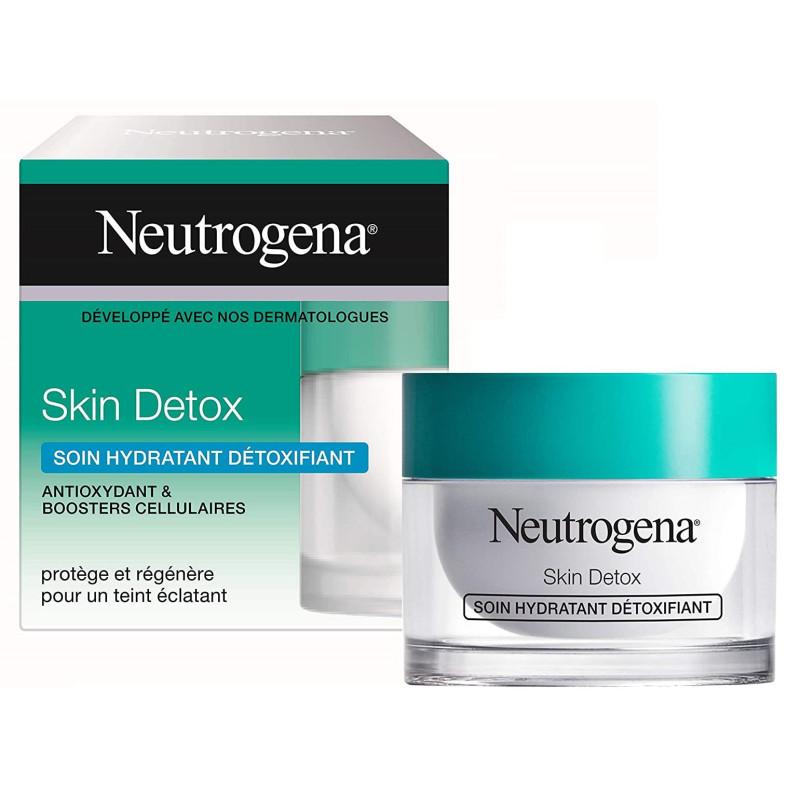 Neutrogena - Soin Hydratant Détoxifiant SKIN DETOX - 50 ml