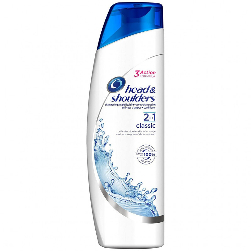 Head & Shoulders - Shampoing Antipelliculaire 2 EN 1 CLASSIC - 255 ml
