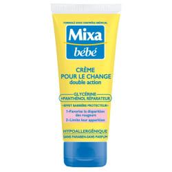 Mixa Bébé - Crème pour le Change Double Action - 100 ml