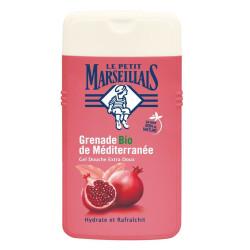 Le Petit Marseillais - Gel Douche Extra Doux - Grenade Bio de Méditerranée