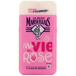 Le Petit Marseillais - Douche Crème Hydratante P'TIT BONHEUR - A La Rose De Provence