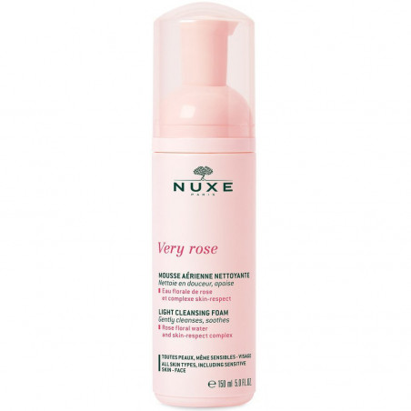 Nuxe - Mousse Aérienne Nettoyante VERY ROSE 150ml