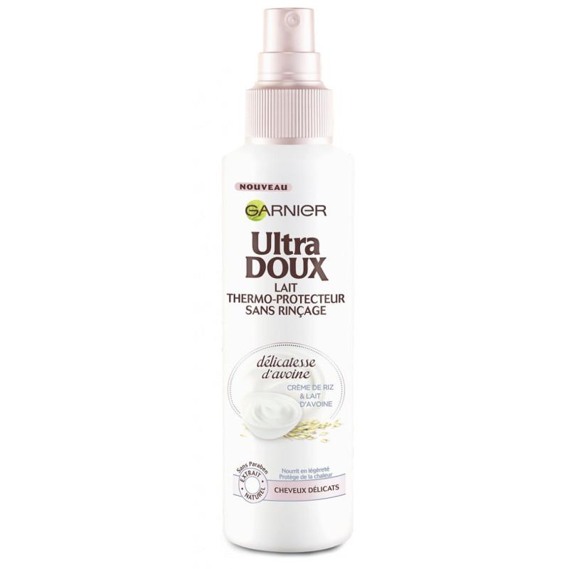 Garnier - Lait Thermoprotecteur Spray ULTRA DOUX - Délicatesse d'avoine