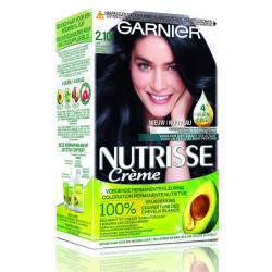 Garnier - Coloration Permanante Nutritive NUTRISSE Crème - 2.10 Noir Beauté Profond