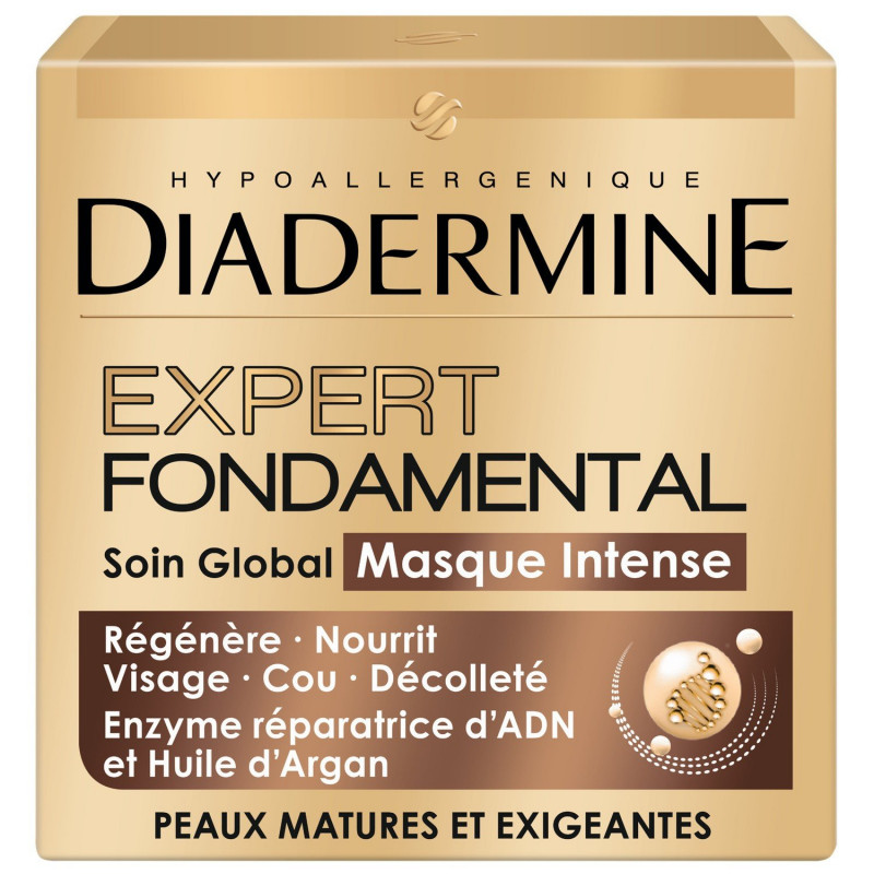 Diadermine - Masque Visage Intense Anti-âge - 50 ml